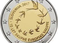 10. výročie zavedenia eura v Slovinsku