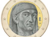 """Emisia 2€ Taliansko 2013 """"Giovanni Boccaccio"""""""