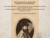 10€ Juraj Turzo - 400. výročie úmrtia - prvý deň predaja