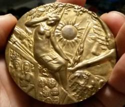 Lumír Šindelář: 60 výročie, reverz medaily