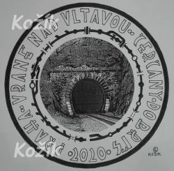 Jaroslav Kožík - 120 let železniční trati 210 - námet, graf návrh reverz