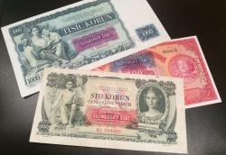 efsoboy - bankovky slovenského štátu, pretlače 1939