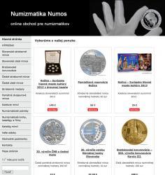 Online obchod Numizmatika Numos